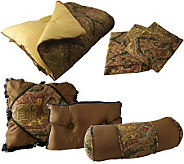 Meridian Comforter, Sham and Decorative Pillow Set - H167829