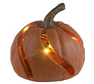 Bethlehem Lights 8 Battery Op. Decorative Pumpkin w/Timer - H192529