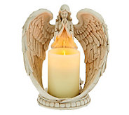 Home Reflections 9 Angel Wings Flameless Candleholder - H199229