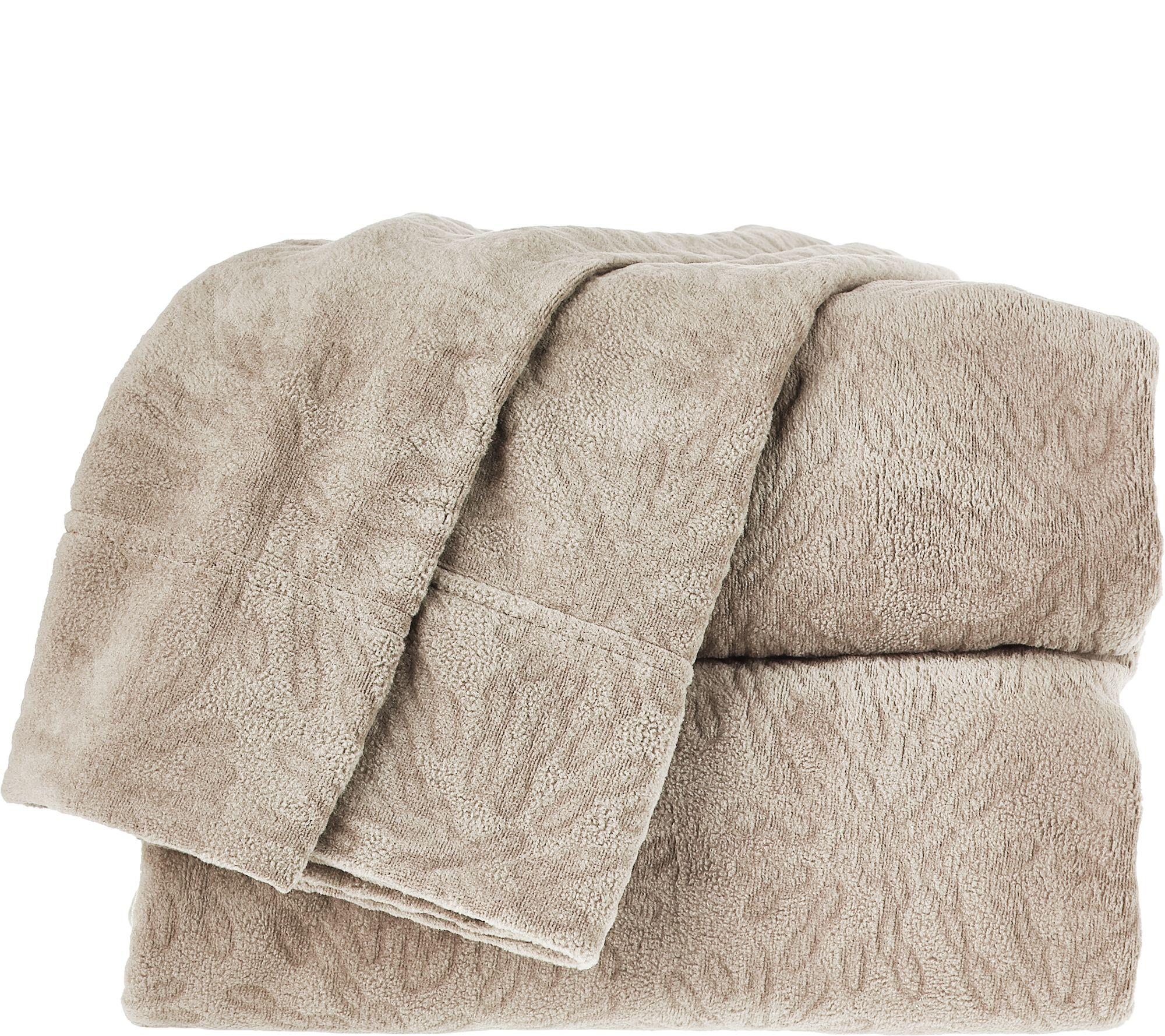 Malden Mills Polar Fleece Mum Laser Cut King Sheet Set