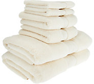 Northern Nights 600 GSM 100Cotton 6 Piece Bath Towel Set - H209529