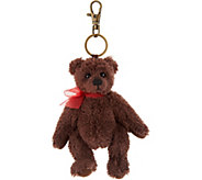 Charlie Bears Collectible Chocolate 5 Plush Keyring Bear - H212829
