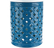 Illuminated 18 Indoor/ Outdoor Ceramic Accent Table by Valerie - H213529