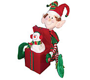 12-1/2 Musical Elf Box by Santas Workshop - H286429