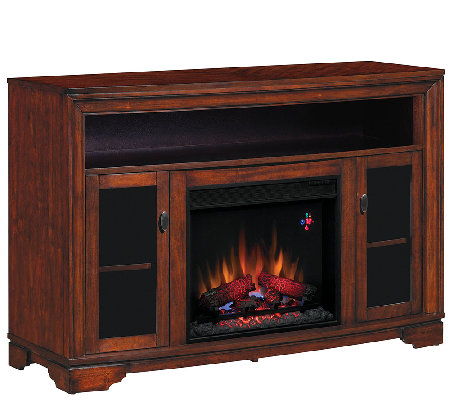 twin star palisades tv media mantel fireplace with remote