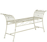 Hadley Iron Bench by Valerie - H288229