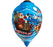 Limited Edition Santas Magic Flight Ornament by NeQwa - H289129