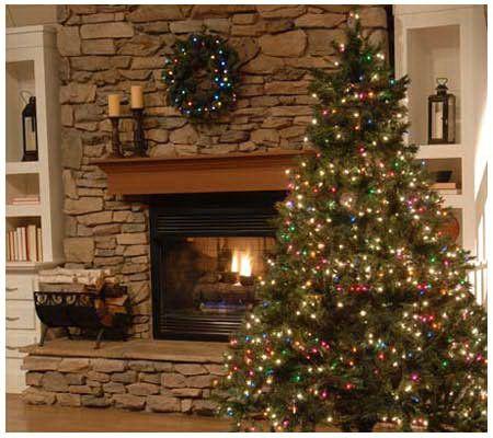 3-in-1 Ultimate Prelit 7 1/2' Christmas Tree w/ 1200 Lights ...