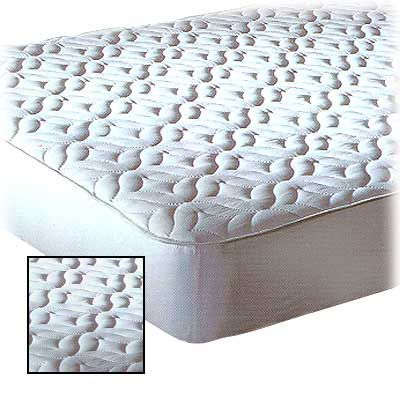 Quilted Top Mattress Pad Twin XL Page 1 — QVC