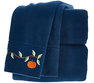 Malden Mills QN Harvest Embroidered Polarfleece Sheet Set - H206330
