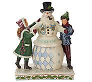Jim Shore Victorian Collection Children with Snowman - H206530