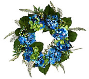 Hydrangea and Berry 20 Wreath by Valerie - H207930