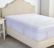 Serta Perfect Sleeper QN Mattress Encasement with Nanotex - H209230