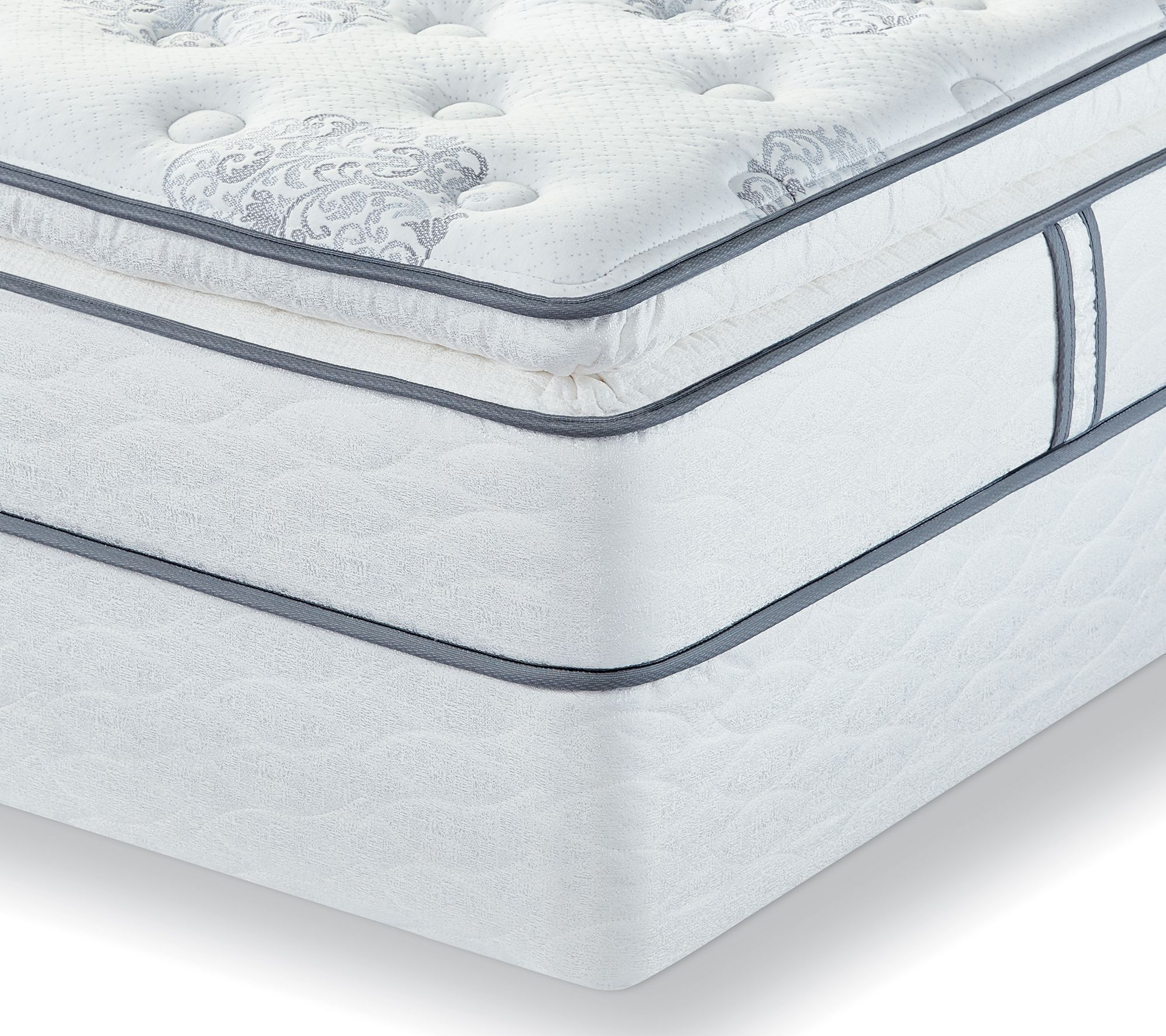 Del Week 10/31 Serta Perfect Sleeper Reserve Suite SPT QN Matt Set  QVC.com