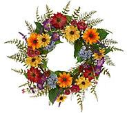 Anniversary 22 Garden in Bloom Wreath by Valerie - H213730