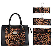 Set of 3 Travel Organizers with Tote by Lori Greiner - H213830