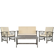 Safavieh Fontana 4-Piece Outdoor Set - H286230