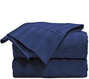Elle 100Cotton Damask Stripe King Sheet Set - H290930