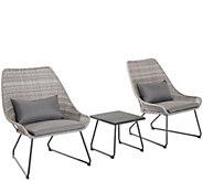 Cambridge 3-Piece Wicker Chair Set - H291230