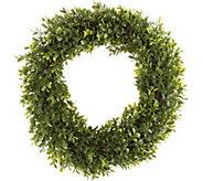 Pure Garden 15 Hedyotis Round Wreath - H292130
