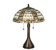 Tiffany-Style Fleur-de-lis Table Lamp - H159731