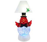 Kringle Express Holiday Character Glitter Dome Candle Lamp - H200931