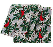 Malden Mills TW Polarfleece Printed Holiday Sheet Set - H205231