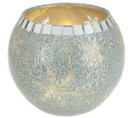 Mosaic Bowl with Micro Lights by Valerie