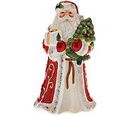 Spode Christmas Tree 5 Figural Santa Bell - H205431