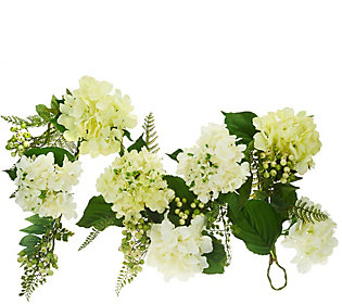 Hydrangea and Berry 4' Garland by Valerie