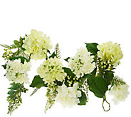 Hydrangea and Berry 4 Garland by Valerie - H207931