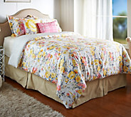 Isaac Mizrahi Live! Home 5-Pc Floral King Comforter Set - H208631