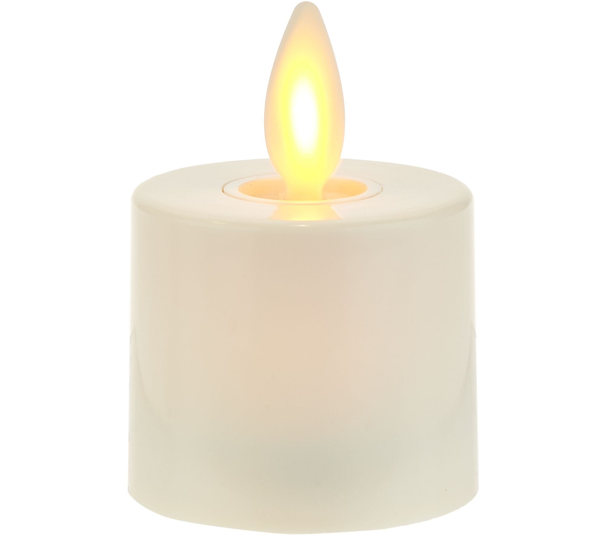 Luminara S/3 Blown Glass Ornaments with Flameless Tealight Candle - Page 1   QVC.com