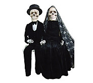 37 Skeleton Couple by Santas Workshop - H281631