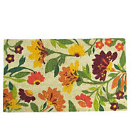 Northlight Multi-Color Spring Floral Door Mat - H293631