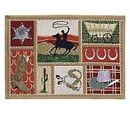 Western 19x27 Tapestry Rug - H349431