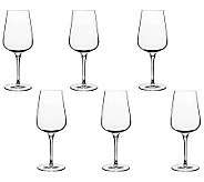 Luigi Bormioli 15.25-oz Intenso White Wine Glasses - Set of 6 - H364831