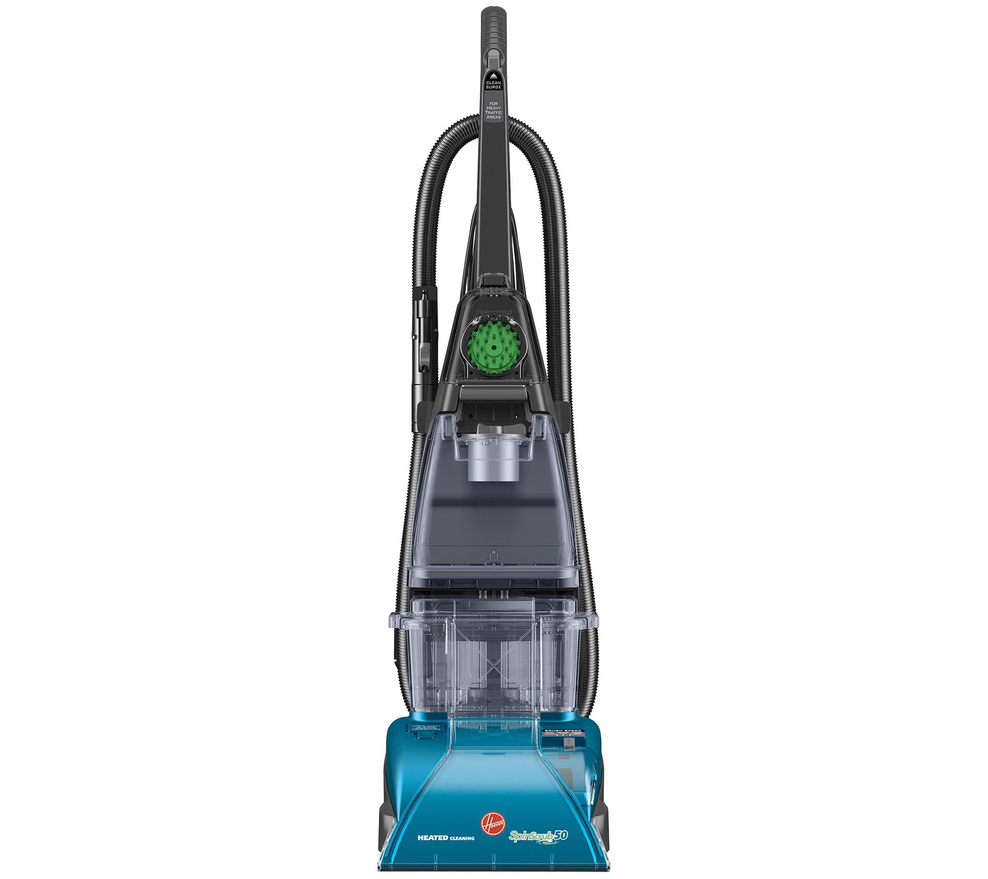 Hoover deep cleaning steam vacuum with clean surge page 1 qvc dailygadgetfo Images