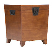 Home Reflections Mission Oak Pyramid End TableTrunk - H169632
