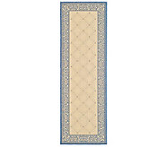Safavieh Courtyard Lattice Flower 24 x 67 Rug - H179032