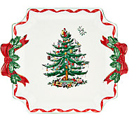 Spode Christmas Tree Ribbon Serving Platter - H205432