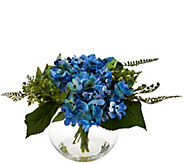 Hydrangea and Berry Floral Arrangement by Valerie - H207932