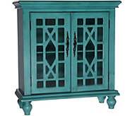 Home Reflections Accent Cabinet with Glass Front Doors - H208032