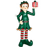 40 Oversized Indoor/Outdoor Lit Elf by Valerie - H208732