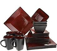 Oneida Tremiti 20-pc Reactive Glaze Stoneware Dinnerware Set - H210632