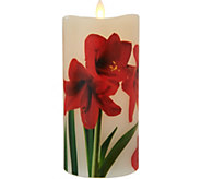 Candle Impressions Mirage Holiday Flameless Candle Pillar - H211632