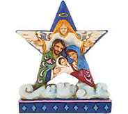 Jim Shore Heartwood Creek Mini Holy Family Star Figurine - H211932