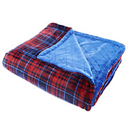 Cuddl Duds Super Soft Reversible Oversized Throw - H212032