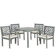 Safavieh Bradbury 5-Piece Outdoor Dining Set - H286232