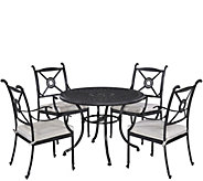 Athens 42 Patio Table w/ Four Arm Chairs - H289632